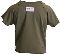 Gorilla wear classic work out top army green back