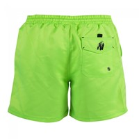 Gorilla Wear Miami Shorts - Neon Lime-2