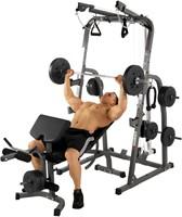 Hammer Fitness Solid xp halterbank-1