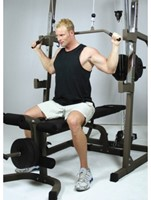 Hammer Fitness Solid xp halterbank met 76 kg gewichten-2