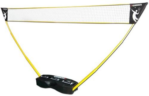 Hammer 3-in-1 draagbaar badminton net