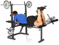 Hammer Fitness Bermuda XT Halterbank 3