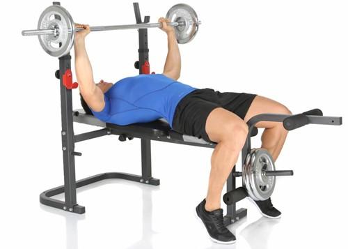 Hammer Fitness Bermuda XT Halterbank 9