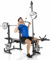 Hammer Fitness Bermuda XTR Pro Halterbank model 4