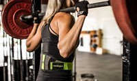 Harbinger Womens contoured flexfit belt 4