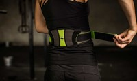 Harbinger Womens contoured flexfit belt 5