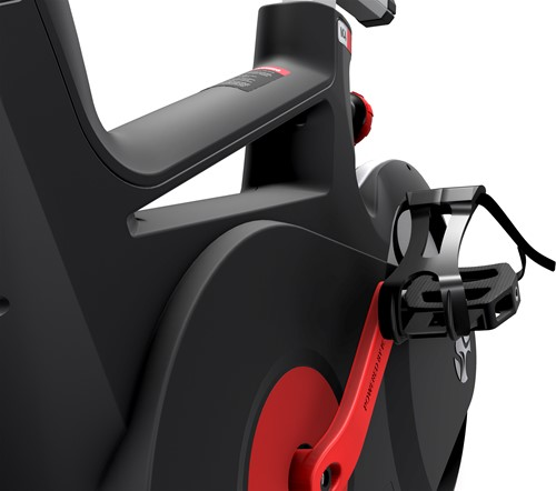 Life Fitness ICG IC4 trappers zijkant spinbike