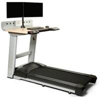InMovement Treadmill Desk Right Dual Monitor
