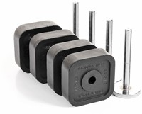 Ironmaster Quick-Lock Verstelbare Dumbbells Met Add-On Kit - 54,4 KG - Met Dumbbell Stand