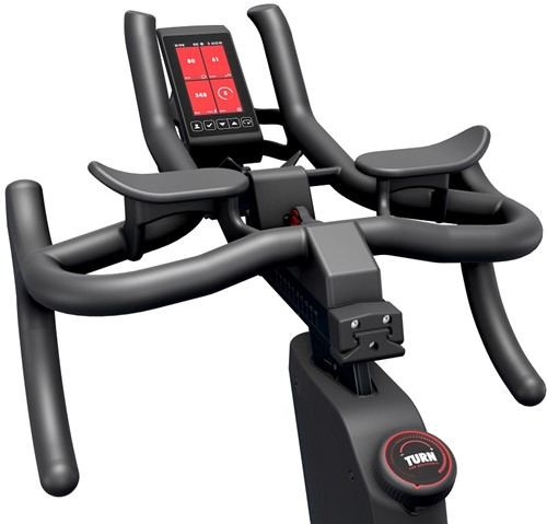 Life Fitness Tomahawk Indoor Bike IC8 display