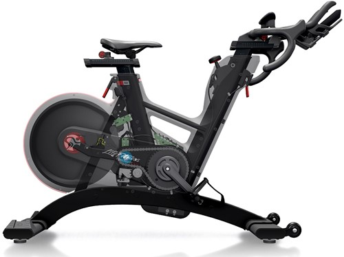 Life Fitness Tomahawk Indoor Bike IC8 open kettingkast