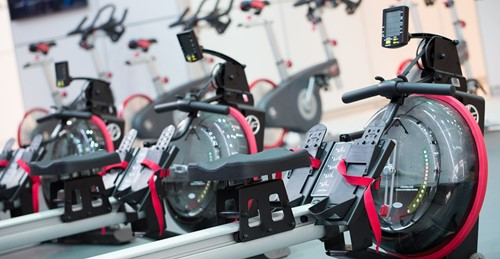Life fitness row GX roeitrainer sfeer
