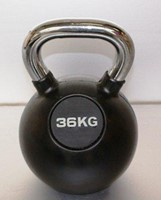 Kettlebell 36 kg rubber-1