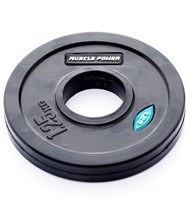 Muscle Power Rubber Halterschijf (50 mm)-2