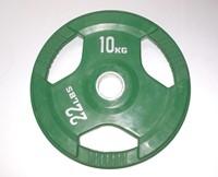 Rubber schijf gekleurd 10 kg (50 mm)-1