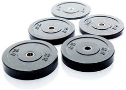Olympic Black Bumper Plates