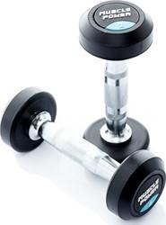 Muscle Power ronde dumbells 2 tot en met 20 kg