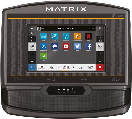 Matrix R50 Ligfiets XER console