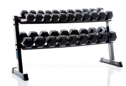 Muscle power dumbbellrek met hexa