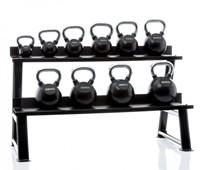 Muscle power kettlebell opbergrek met kettlebells 2
