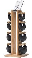 Nohrd Swing Bell Toren Set - Natural Oak