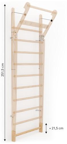 Nohrd WallBar Verhoging 21,5 cm - Eiken-2