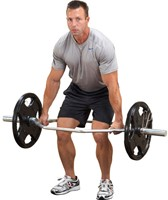 Body-Solid Olympic Shrug Bar-3
