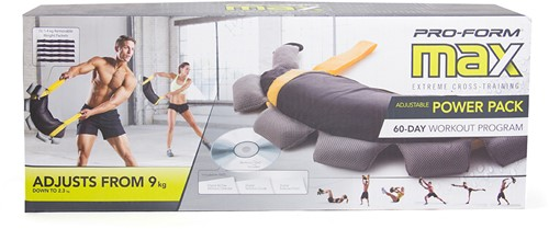 ProForm Verstelbare Bulgarian Bag met work-out DVD-2