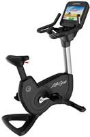 Life Fitness Platinum Discover SE Lifecycle Hometrainer Arctic Silver - Gratis montage-1