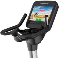 Life Fitness Platinum Discover SE Lifecycle Hometrainer Arctic Silver - Gratis montage-3