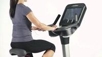 Life Fitness Platinum Discover SE Lifecycle Hometrainer Arctic Silver - Gratis montage-2
