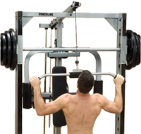 Body-Solid (PowerLine) Lat Attachment-1