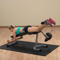 Body-Solid Leg Extension & Curl Machine PLCE165X-2