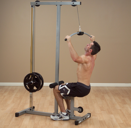Body-Solid Lat Machine-3