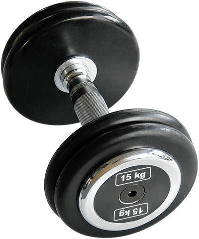 Body-Solid Pro Style Rubber Dumbells-3