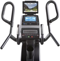 Proform HIIT trainer front met tablet