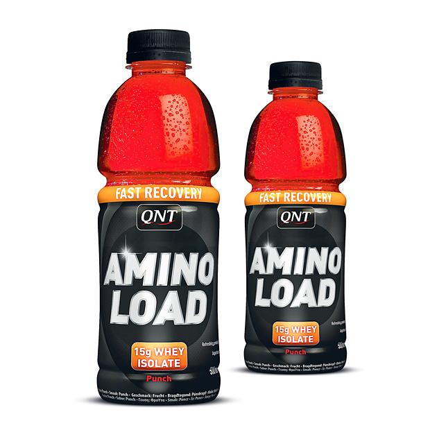 QNT Amino Load 24x500ml Fruit Punch