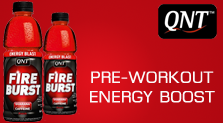 QNT Fire Burst - 24x500ml - Fruit Punch