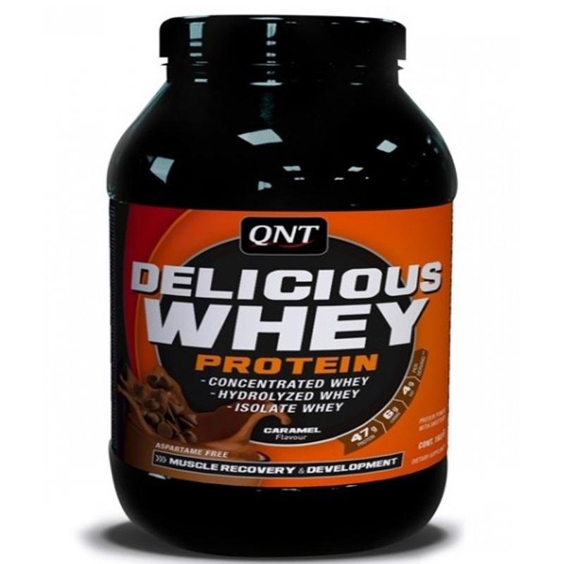 QNT Delicious Whey Protein 2200g Banaan