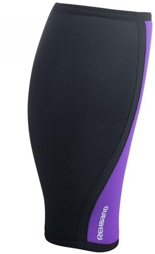 Rehband shin calf support black purple achterkant