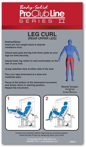 Body-Solid (PCL Series II) Seated Leg Curl-3