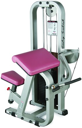 Body-Solid Pro Club Line Biceps Curl Machine