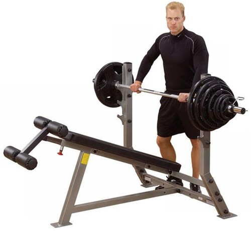 Body-Solid Pro Club Line Decline Olympic Bench-2
