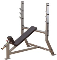 Body-Solid Pro Club Line Incline Olympische Halterbank