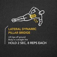 SKLZ Trainermat Sport Performance - Zelf begeleidende oefenmat met 24 oefeningen-3