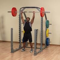 Body-Solid Pro Club Line SMR1000 Multi Squat Rack-2