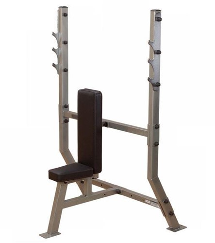 Body-Solid Pro Club Line Shoulder Press Olympic Bench-2