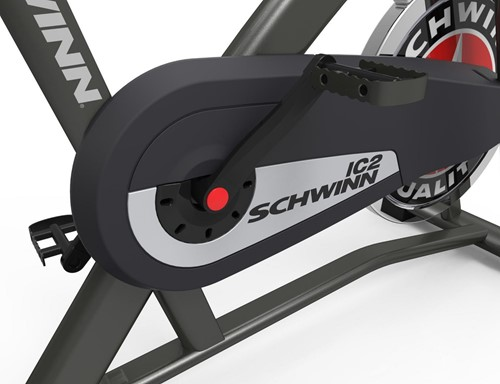 Schwinn IC2 spinbike detail