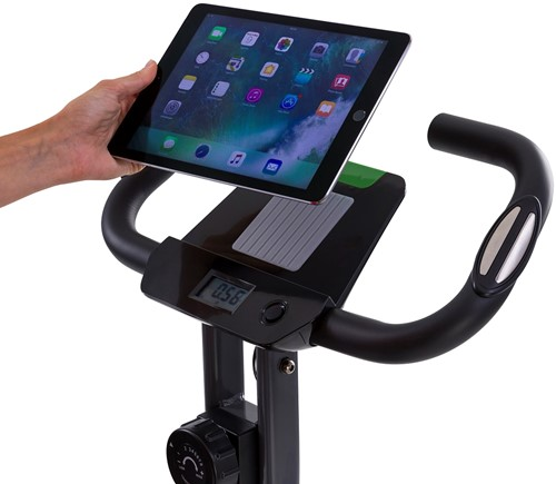 Tunturi B20 X-bike folding bike display tablet