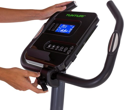 Tunturi Cardio Fit E30 ergometer hometrainer display 2